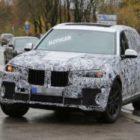 Большой внедорожник BMW X7 впервые рассекречен вживую