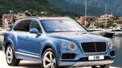 В России Bentley представит самый быстрый дизельный внедорожник в мире