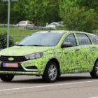 Новый универсал Lada Vesta заметили на тестах в Германии