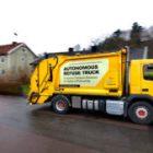 Volvo и Renova приступили к испытаниям беспилотного мусоровоза
