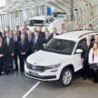 Производство Skoda Kodiaq запущено на ГАЗе в Нижнем Новгороде