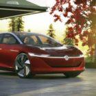 Volkswagen представил в Женеве электрокар I.D. Vizzion