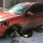 Варварский метод кражи колес Lada Vesta SW Cross набирает популярность