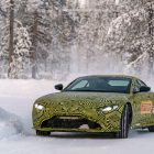 Новый 2018 Aston Martin Vantage – обзор прототипа