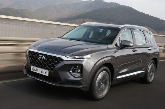 Это новый внедорожник Hyundai Santa Fe