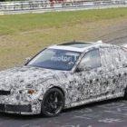 Обновленный BMW M3 замечен на трассе в Нюрбургринге