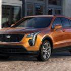 Cadillac назвал цены на новый «бюджетный» кроссовер Cadillac XT4